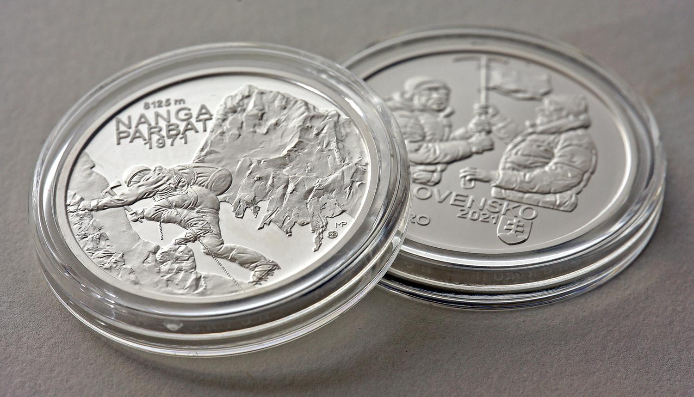 2021 Slovak €10 – Nanga Parbat Climbing