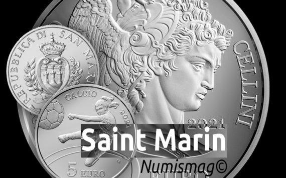5€ & 10€ silver coins, Republic of San Marino 2021