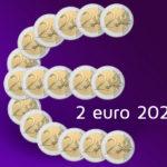 Commemorative 2 euro coins 2022
