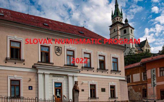 2022 slovak Numismatic program