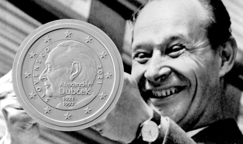 2€ slovaque 2021 – 100éme anniversaire de la naissance de DUBCEK