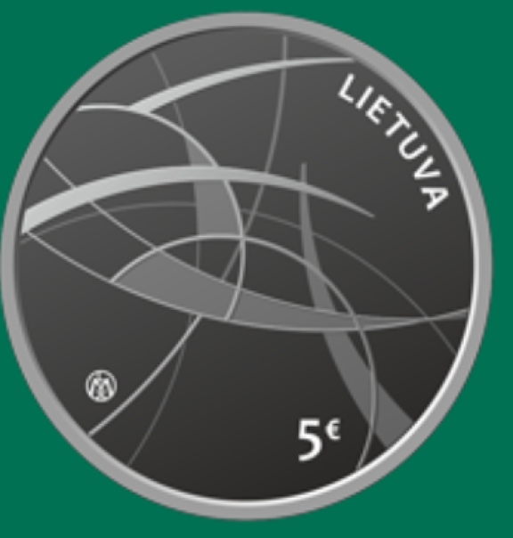 2021 lithuanian €5 coin dedicated to social sciences