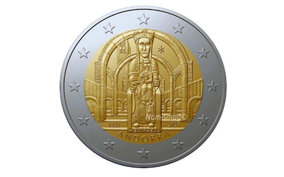 Programme numismatique d'ANDORRE 2021