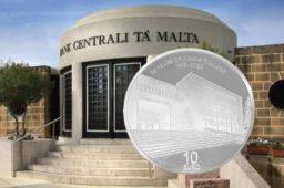 MALTA €10 25th anniversary Junior College opening