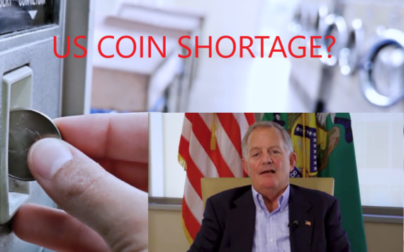 In july 2021, is there still a US coin shortage?