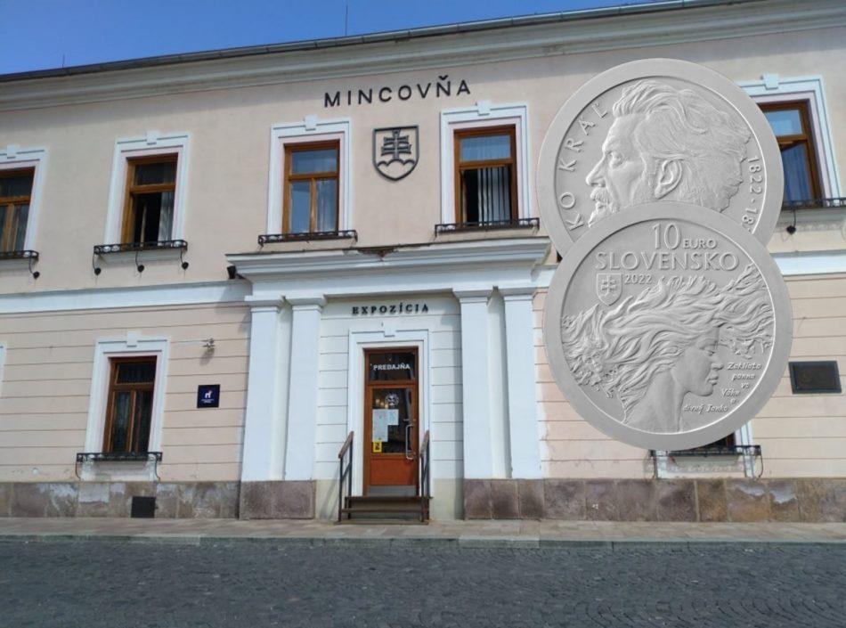 10€ slovaque 2022 – 200 ans de la naissance de JANKO KRAL