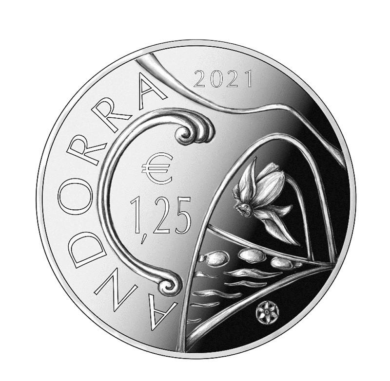 2021 ANDORRA numismatic program