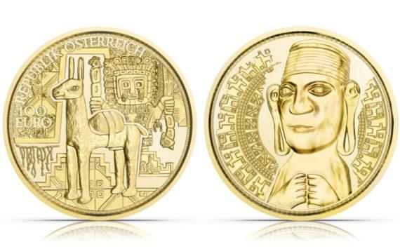 100€ or 2021 autrichienne – «L'or des Incas»