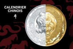 Calendrier chinois  Année du Tigre – Monnaie de Paris 2021