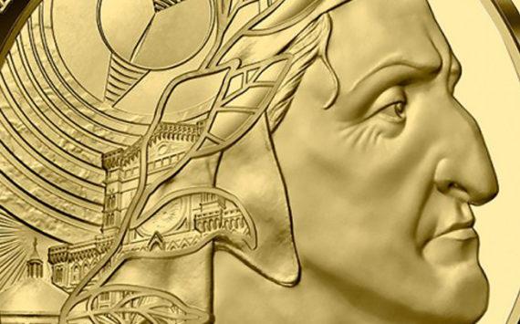 Pièces Argent & Or Dante Alighieri – série L'Art de la Plume