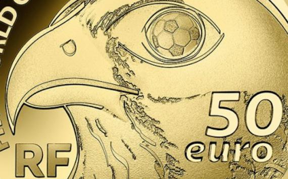 Pièces ARGENT ET OR Coupe du monde de Football 2022 Qatar – France
