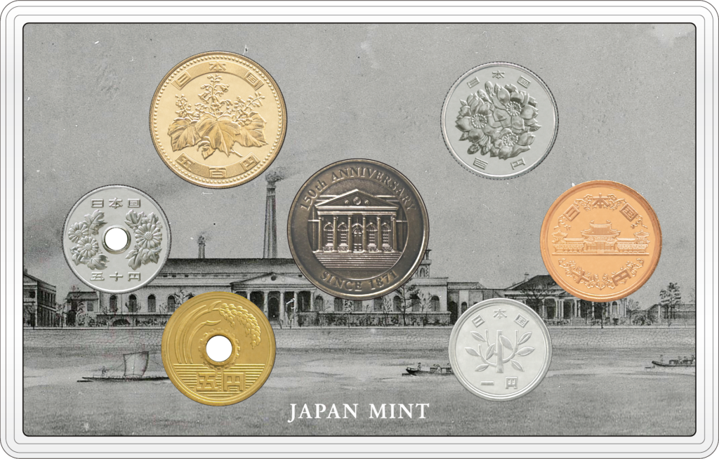 Japan Mint celebrates its 150th birthday with a gold coin and a coinset