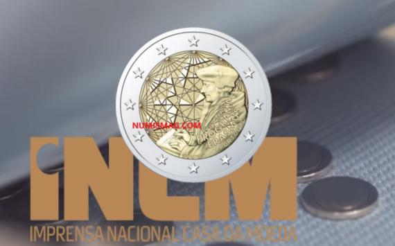 2€ ERASMUS 2022 émise par le Portugal