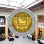 2022 lithuanian €2 coin - SUVALKIJA region from ROLANDAS RIMKUNAS