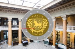 2022 lithuanian €2 coin – SUVALKIJA region from ROLANDAS RIMKUNAS