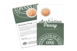 2 coincards pour célébrer le 110eme anniversaire du penny australien
