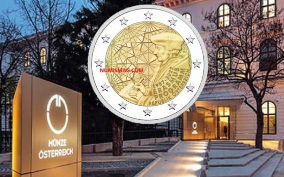 2022 austrian numismatic program – ERASMUS celebrated