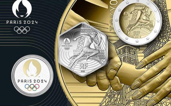 """""""2024 – Paris Olympic Games"""" by Monnaie de Paris"""