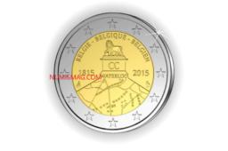 2€ Waterloo 2015: Polémique autour d'une commémorative