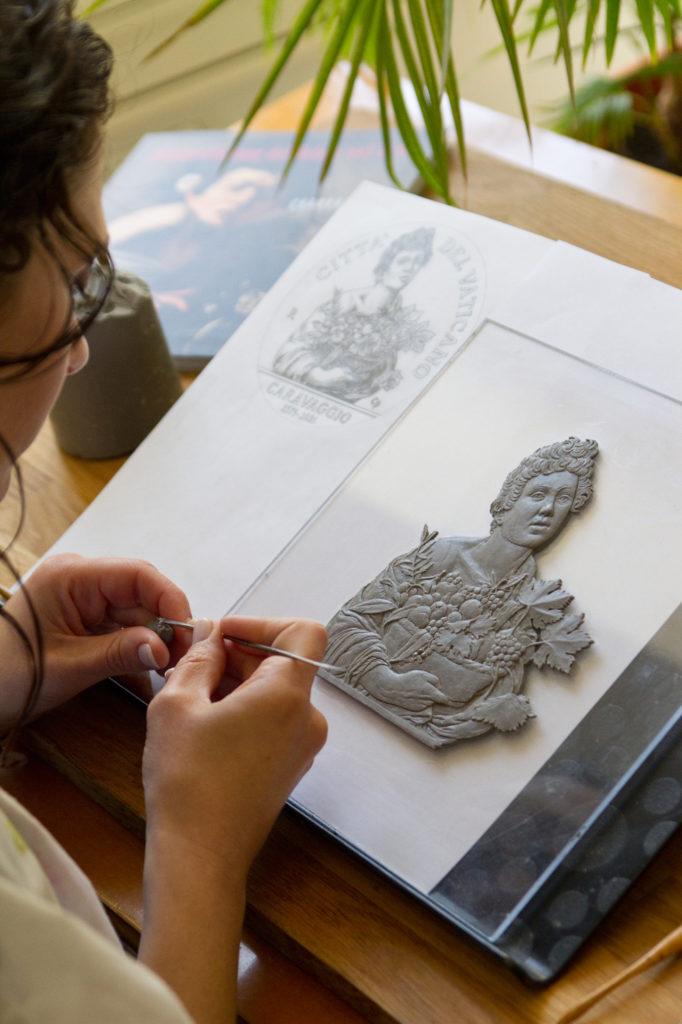CHIARA PRINCIPE, worthy ambassador of the Italian school of engraving